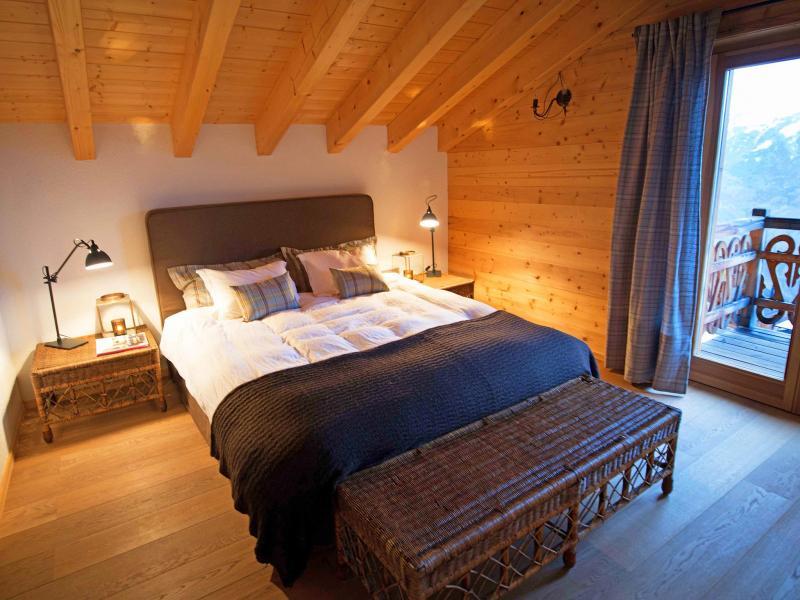 Vacances en montagne Chalet Aurore - Thyon - Chambre mansardée
