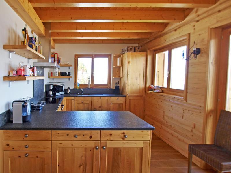 Vacances en montagne Chalet Aurore - Thyon - Cuisine