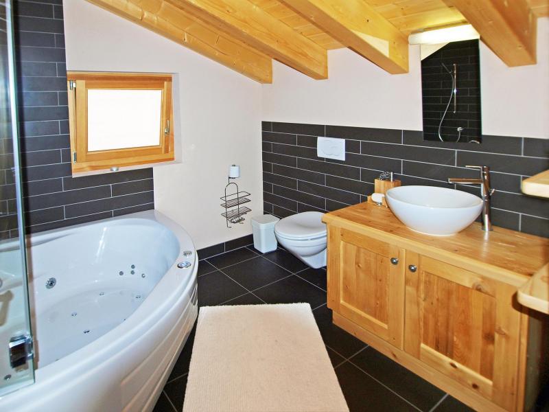 Vacances en montagne Chalet Aurore - Thyon - Salle de bains