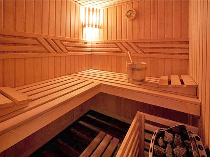 Vacances en montagne Chalet Aurore - Thyon - Sauna