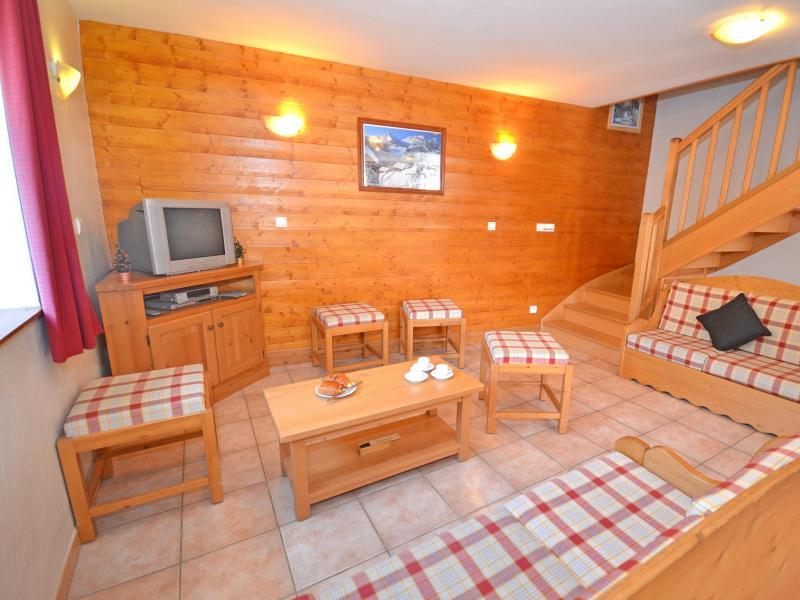 Vacances en montagne Chalet Balcon Cime de Caron - Les Menuires - Séjour