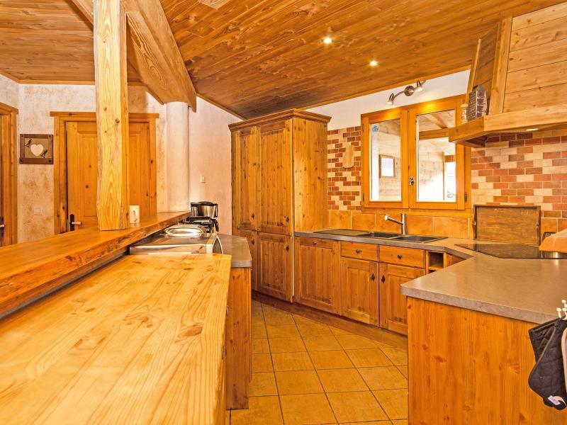 Vacanze in montagna Chalet Balcon du Paradis - Peisey-Vallandry - Cucina