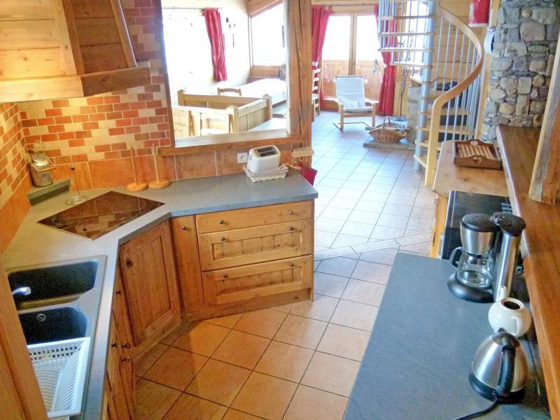Vacances en montagne Chalet Balcon du Paradis - Peisey-Vallandry - Cuisine