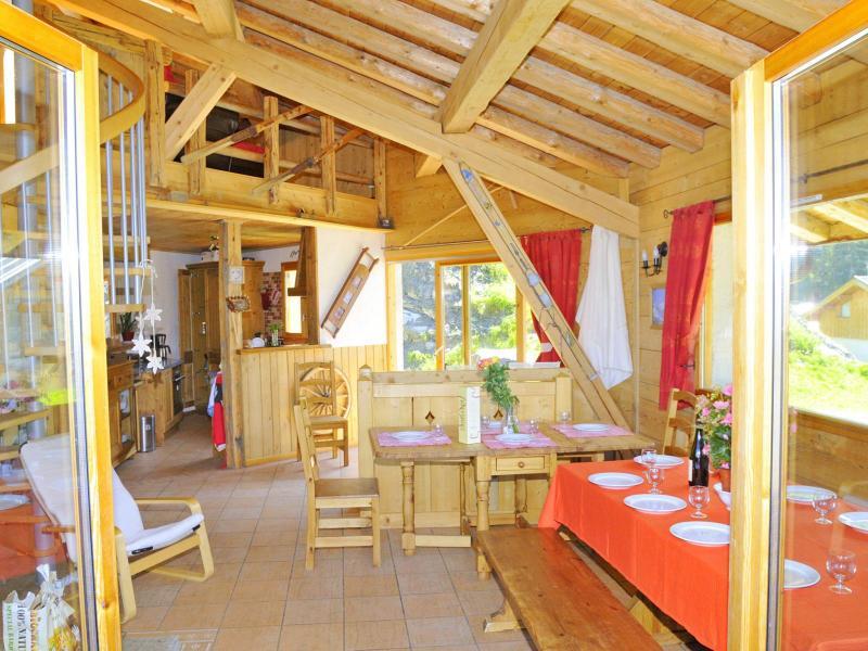 Vacances en montagne Chalet Balcon du Paradis - Peisey-Vallandry - Salle à manger