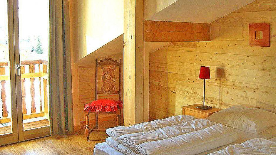 Vacances en montagne Chalet Balcons Acacia - Saint Martin de Belleville - Chambre