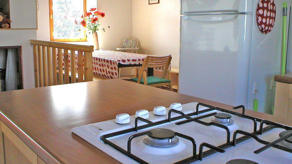Urlaub in den Bergen Chalet Ballade - Les Menuires - Küche