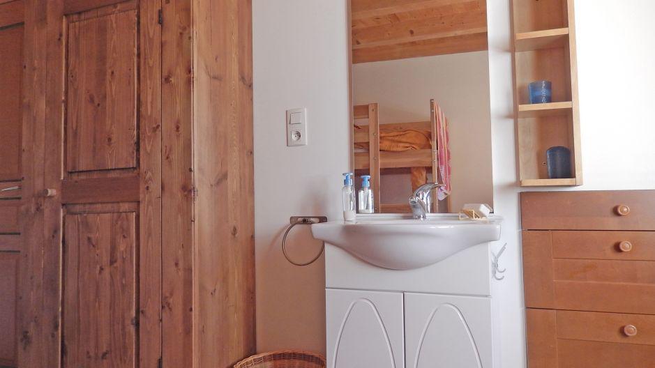 Vacances en montagne Chalet Ballade - Les Menuires - Salle de bains