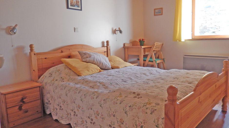 Urlaub in den Bergen Chalet Ballade - Les Menuires - Schlafzimmer