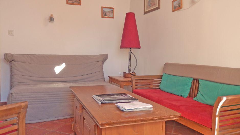 Urlaub in den Bergen Chalet Ballade - Les Menuires - Wohnzimmer