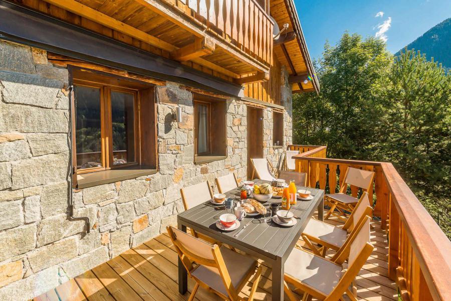 Location au ski Chalet Baratte - Champagny-en-Vanoise - Extérieur été