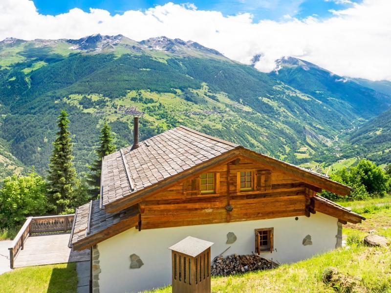 Location au ski Chalet Barbara - Thyon - Extérieur été