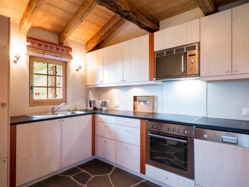 Holiday in mountain resort Chalet Barbara - Thyon - Kitchen