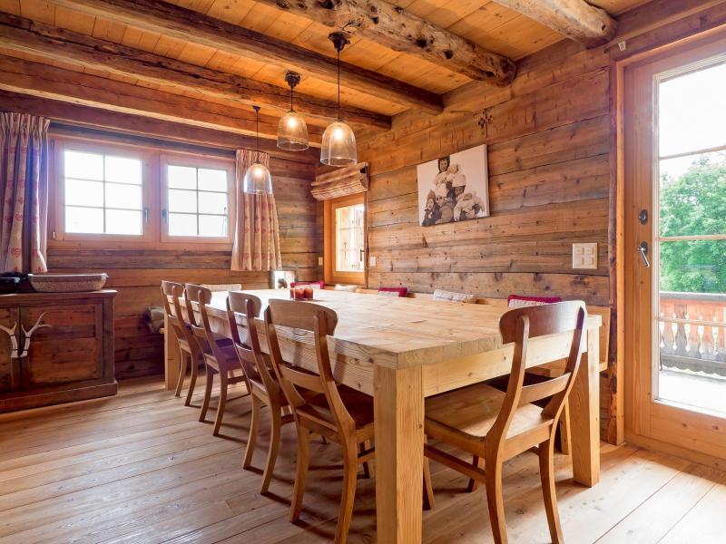 Vacances en montagne Chalet Barbara - Thyon - Salle à manger