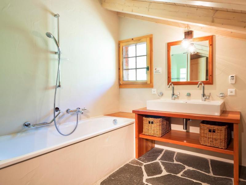 Vacances en montagne Chalet Barbara - Thyon - Salle de bains