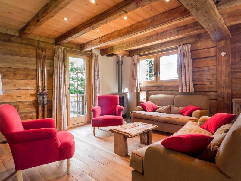 Vacances en montagne Chalet Barbara - Thyon - Séjour