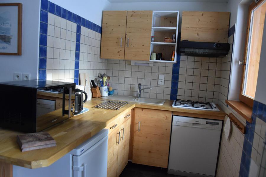 Wakacje w górach Apartament 3 pokojowy 4 osób (RDJ) - Chalet Bas de Chavière - Pralognan-la-Vanoise - Aneks kuchenny