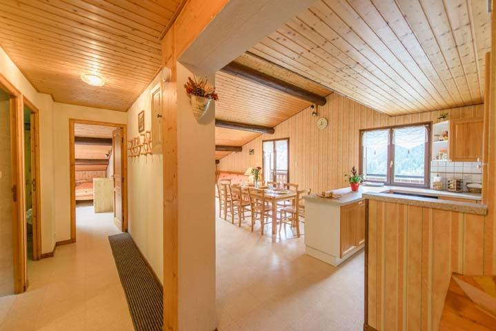 Wakacje w górach Apartament 3 pokojowy 7 osób (1) - Chalet Beau Regard - Châtel - Korytarz