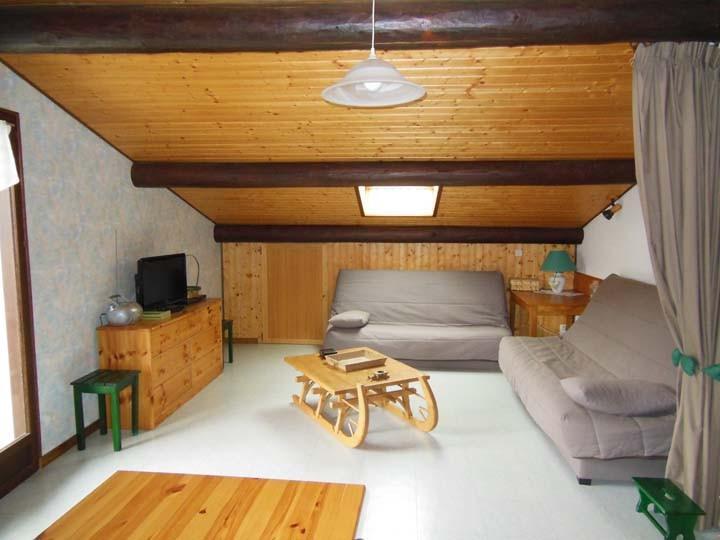 Wakacje w górach Apartament 3 pokojowy 7 osób (2) - Chalet Beau Regard - Châtel - Pokój gościnny