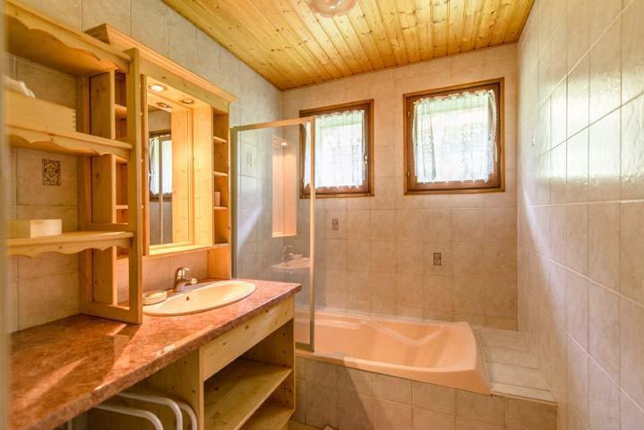 Vacaciones en montaña Apartamento 3 piezas para 7 personas (1) - Chalet Beau Regard - Châtel - Bañera