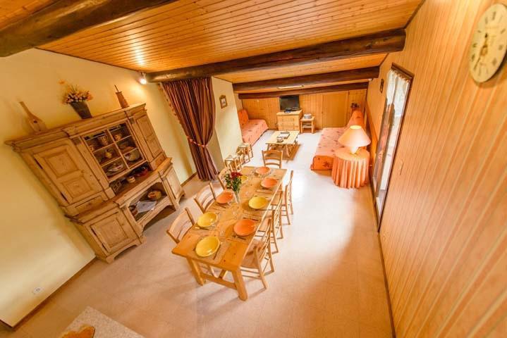 Vacaciones en montaña Apartamento 3 piezas para 7 personas (1) - Chalet Beau Regard - Châtel - Mesa