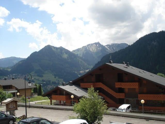 Vacaciones en montaña Chalet Bel Horizon - Châtel - Verano