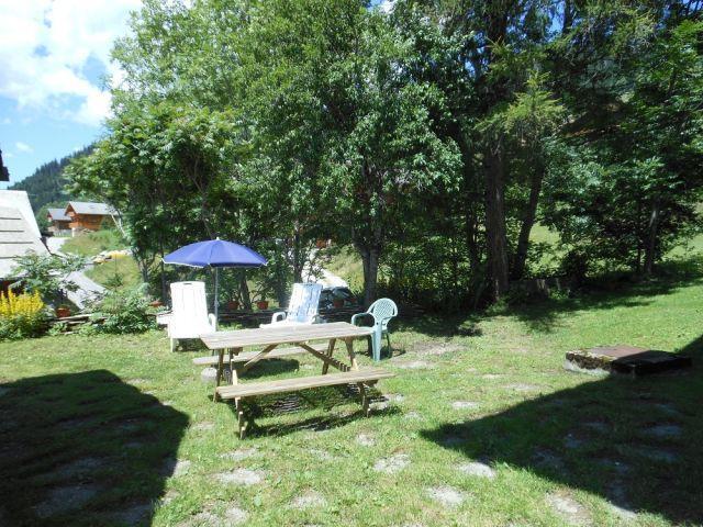 Vacaciones en montaña Estudio para 3 personas - Chalet Bel Horizon - Châtel - Verano