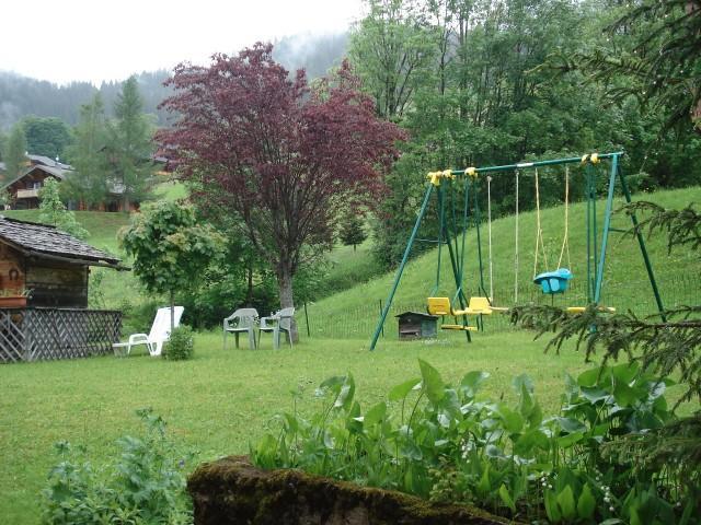 Vacaciones en montaña Apartamento 3 piezas para 6 personas - Chalet Bel Horizon - Châtel - Verano