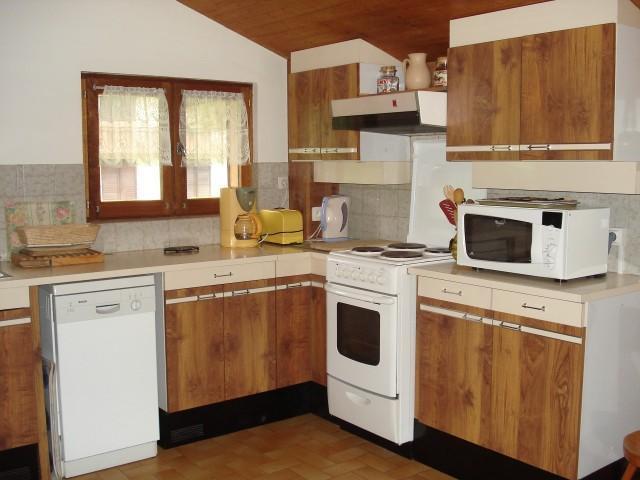 Vacaciones en montaña Apartamento 2 piezas para 5 personas - Chalet Bel Horizon - Châtel - Kitchenette