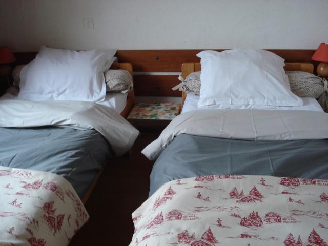 Vacaciones en montaña Apartamento 3 piezas para 6 personas - Chalet Bel Horizon - Châtel - Cama individual