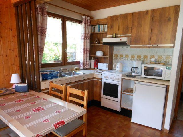 Vacaciones en montaña Estudio para 3 personas - Chalet Bel Horizon - Châtel - Kitchenette