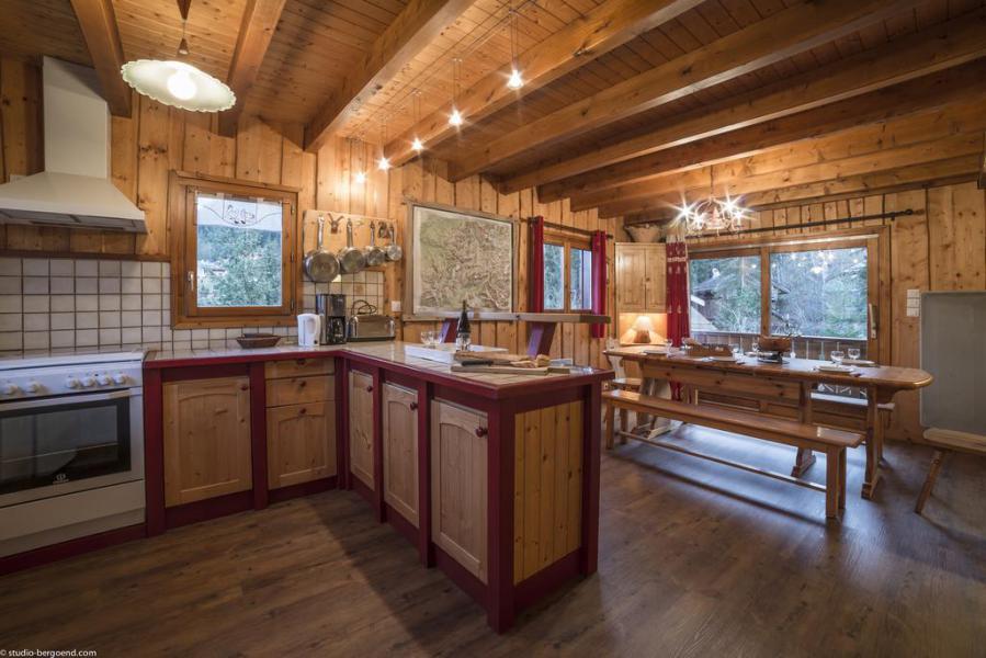 Vacances en montagne Chalet duplex 4 pièces 13 personnes - Chalet Berger - La Tania - Cuisine