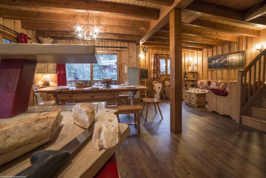 Vacances en montagne Chalet duplex 4 pièces 13 personnes - Chalet Berger - La Tania - Séjour