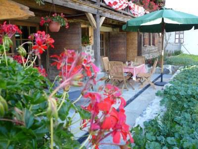 Wakacje w górach Apartament 4 pokojowy 6 osób (2) - Chalet Bon Vieux Temps - Le Grand Bornand - Na zewnątrz latem