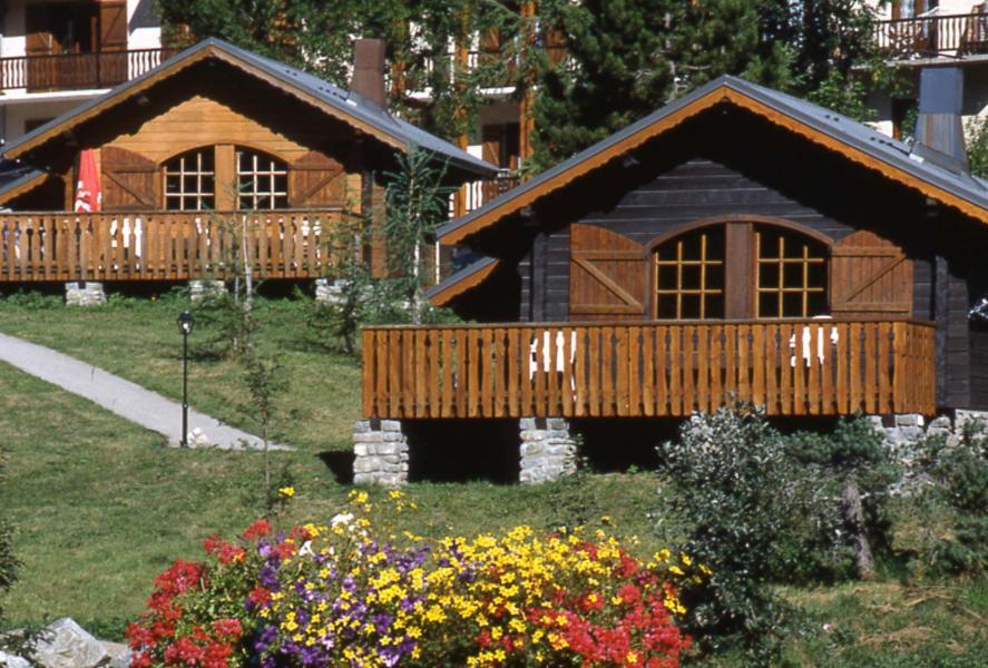 Аренда на лыжном курорте Chalet Bonne Eau - Valloire - летом под открытым небом