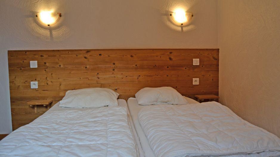 Vakantie in de bergen Chalet Brequin - Les Menuires - Kamer