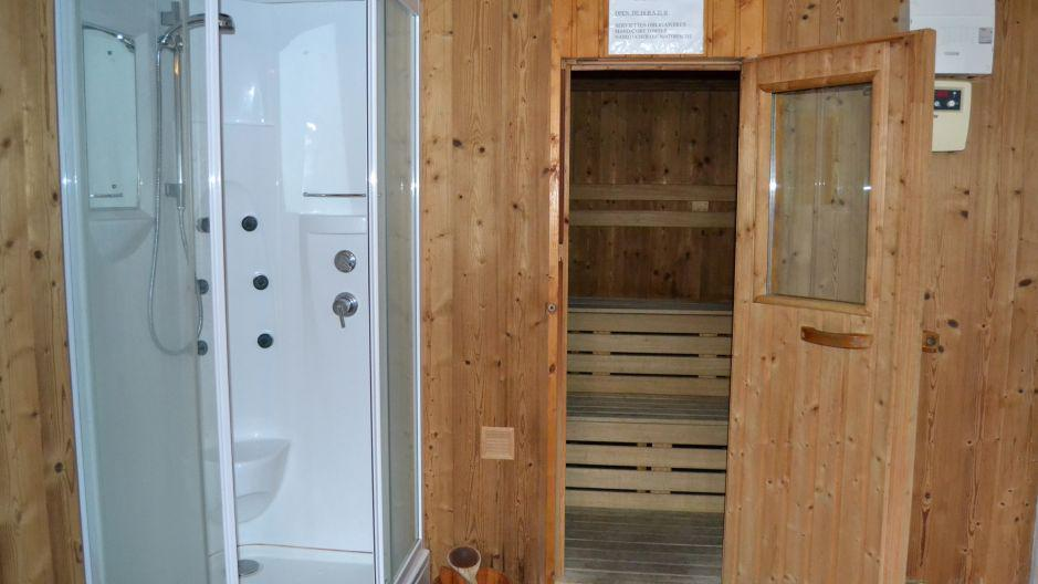 Holiday in mountain resort Chalet Brequin - Les Menuires - Sauna