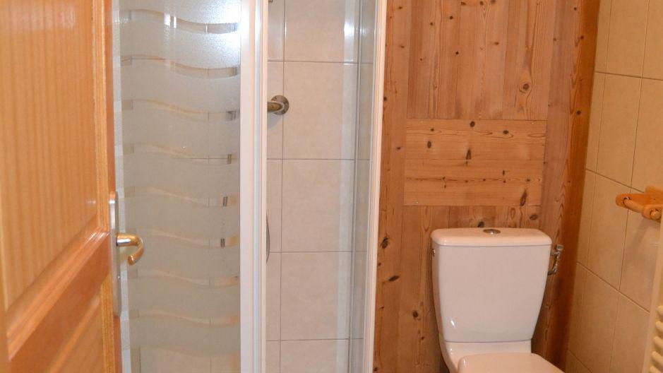 Holiday in mountain resort Chalet Brequin - Les Menuires - Shower