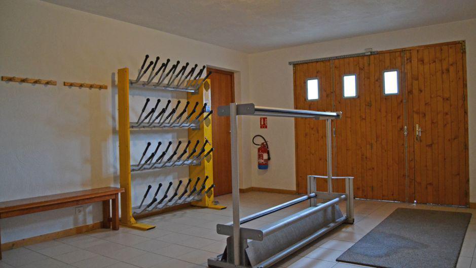 Vakantie in de bergen Chalet Brequin - Les Menuires - Ski opbergruimte