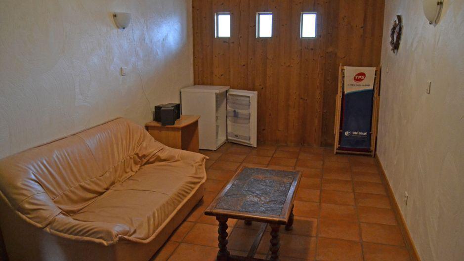 Vakantie in de bergen Chalet Brequin - Les Menuires - Sofa