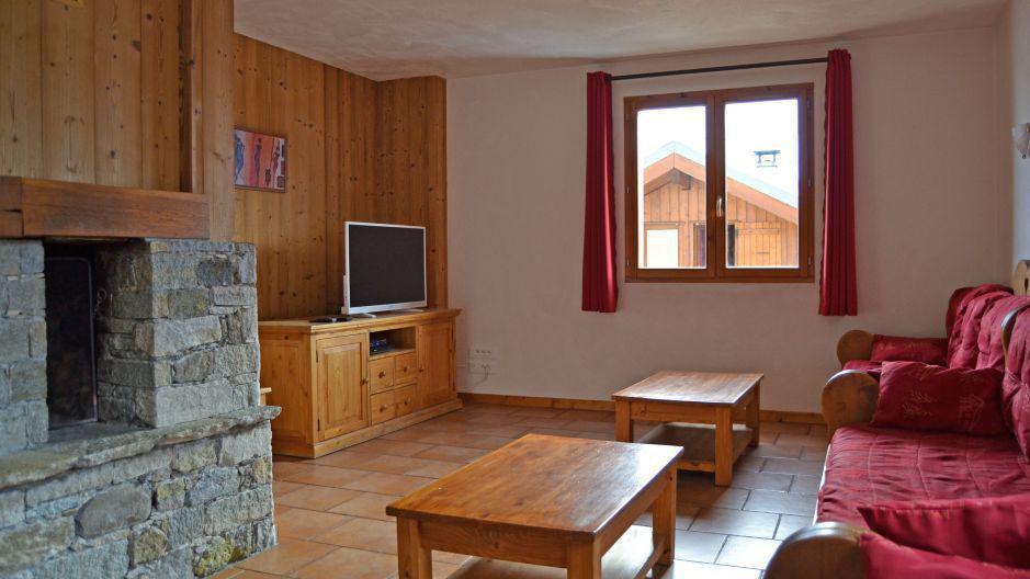 Vacances en montagne Chalet Brequin - Les Menuires - Table basse