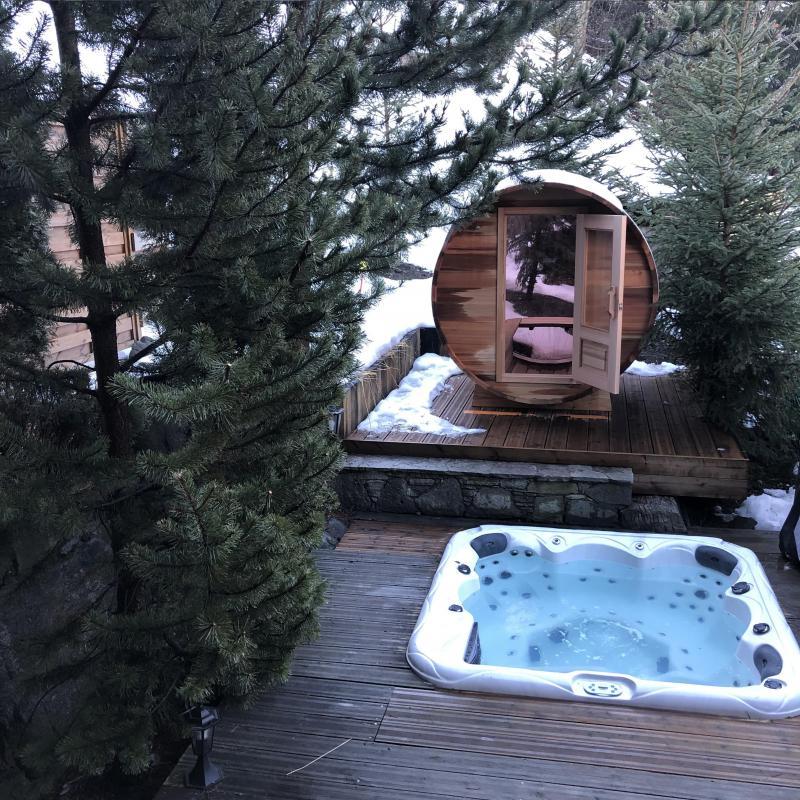 Holiday in mountain resort Chalet Brioche - Méribel