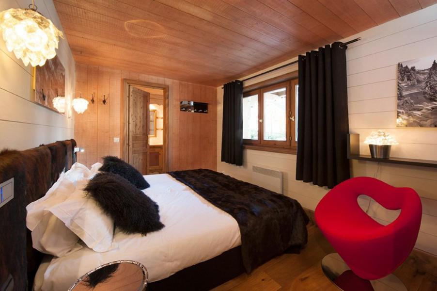 Vacances en montagne Chalet Brioche - Méribel - Chambre