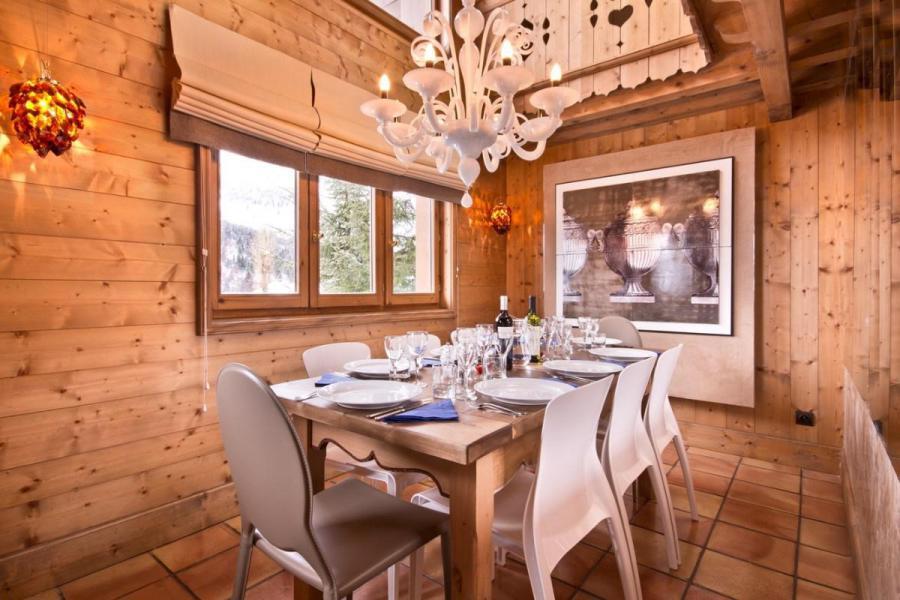 Holiday in mountain resort Chalet Brioche - Méribel - Dining area