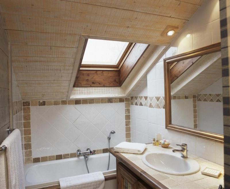 Vacances en montagne Chalet Brioche - Méribel - Salle de bains