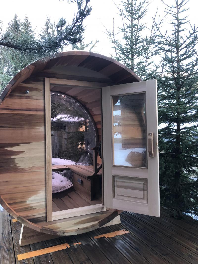 Holiday in mountain resort Chalet Brioche - Méribel - Sauna