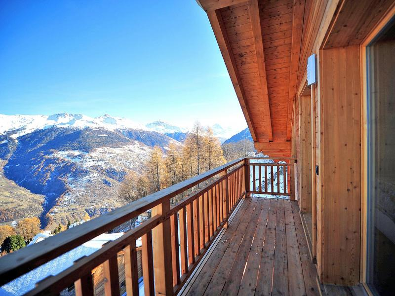 Vacances en montagne Chalet Brock - Thyon - Balcon