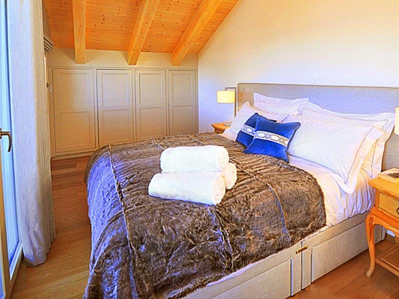 Urlaub in den Bergen Chalet Brock - Thyon - Schlafzimmer