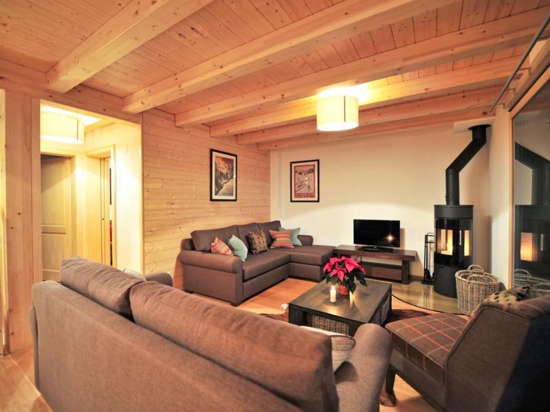 Urlaub in den Bergen Chalet Brock - Thyon - Wohnzimmer