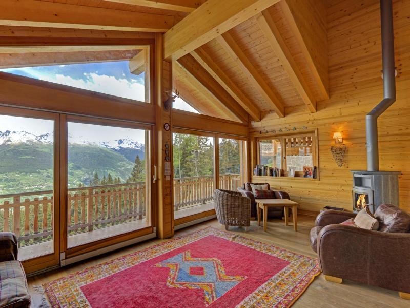 Vacances en montagne Chalet Bryher - Thyon - Séjour