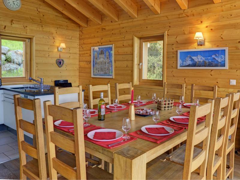 Vacanze in montagna Chalet Bryher - Thyon - Tavolo